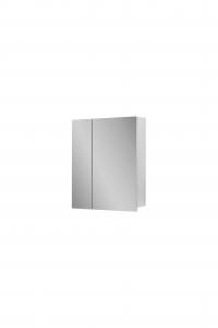 Шкаф навесной 60 зеркало на фасадах БАЗИС