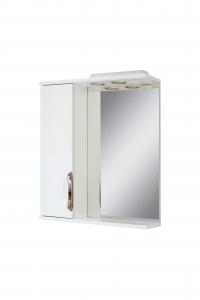 Зеркало 70 врезная ручка левое АЛЬВЕУС