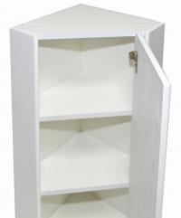 Шкаф навесной угловой 30 зеркало правый БАЗИС