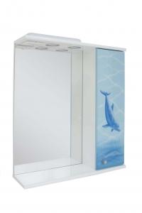 Зеркало 60 дельфин правое