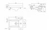 Тумба Комо 40 Симпл подвесная (левая)